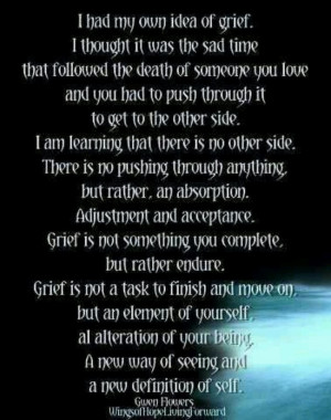 So You Want A Definition Of Grief?