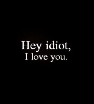 Dumb boyfriends..