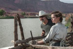 Gore Verbinski and Ruth Wilson in The Lone Ranger (2013)