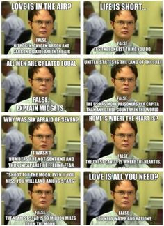 fact dwight schrute quotes google search