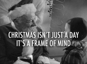 Miracle on 34th Street (1947) Quote (About black and white, christmas ...