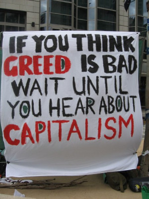 "Corporate greed,"" or just plain old capitalism?"