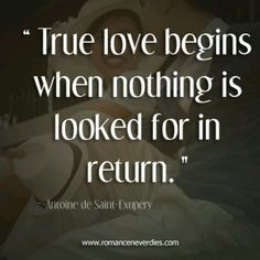 Selfless love, the love of Christ, is true love. More