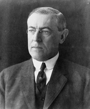 World War I Photo: Woodrow Wilson