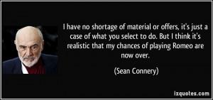 Sean Connery James Bond Quotes