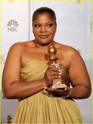 ... of mo nique wins golden globe for precious 2010 globes Wallpaper