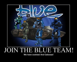 Funny Red Vs Blue Pictures Funny halo motivator red vs