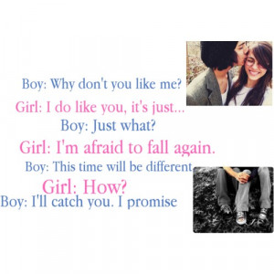 Boy And Girl Talking Quotes