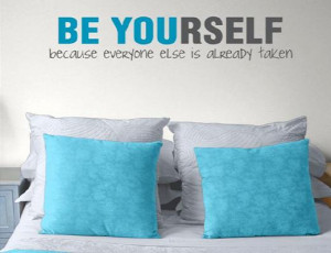 Be Yourself cute quotes about love