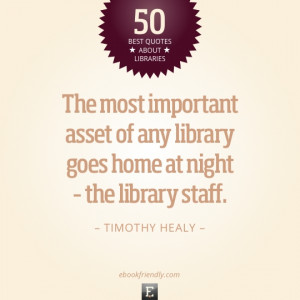 50 most inspiring quotes about libraries and librarians