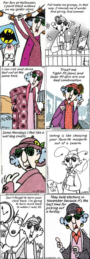 maxine quotes on work