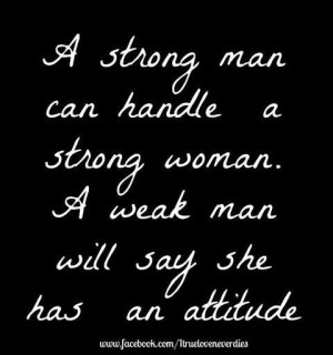 Strong vs weak men.