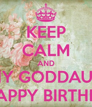 Happy Birthday Quotes For Goddaughter