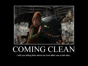 HTTYD-Coming Clean by IllusionEvenstar