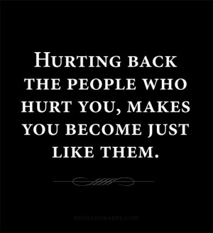 people who hurt you quotes