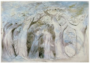 Illustration by William Blake for Dante's