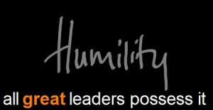 Humility and Leadership