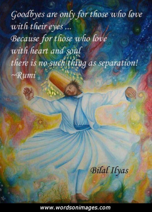 Related to Rumi Goodbye Quotes