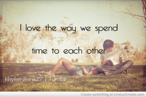 Spending Time With Each Others