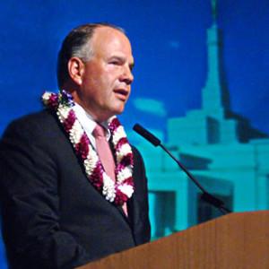 Elder Rasband praises 'greatest temple builder of all mankind'