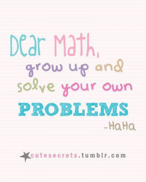 funny, math, quote, quotes, school