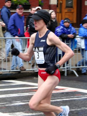 Deena Kastor announced today that she's three months pregnant and won ...