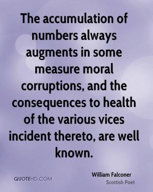 William Falconer Health Quotes