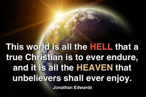 Jonathan Edwards #hell #heaven #Christianity