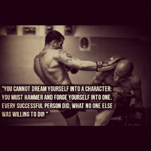 willing to do dreams motivation quotes muay thai fight quotes ...