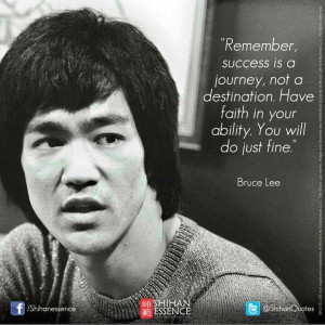 Bruce Lee Quote!