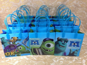 NICKELODEON ANGRY BIRDS MONSTER HIGH GOODIES BAGS PARTY BAGS GIFT BAGS