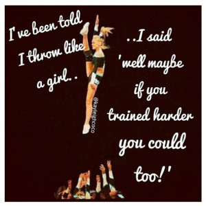 just another cute cheer quote(: