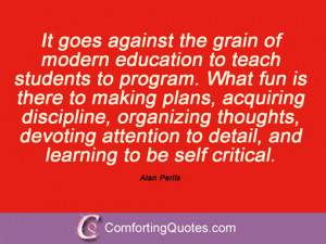 Alan Perlis Quotes