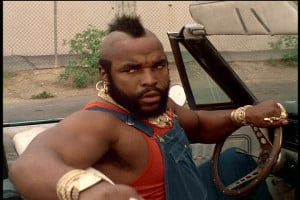 Challenge 2013: T is for Mr. T!