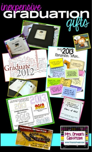 Ten Thoughtful and Inexpensive Graduation Gifts for Your Students