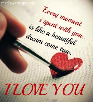 You Are A Dream Come True Quote Beautiful dream come true.