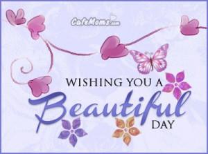 Wishing You A Beautiful Day Facebook Graphic