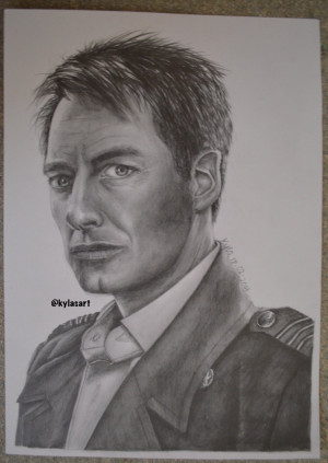 Policy Linking Captain Jack Harkness Torchwood drawing by Klauren 753 ...