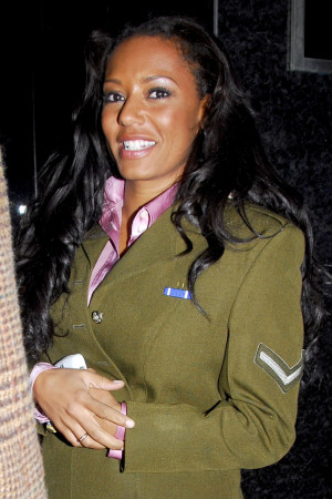 Photos of Melanie Brown aka Mel B From Spice Girls with Husband ...