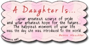My Baby Girl Quotes