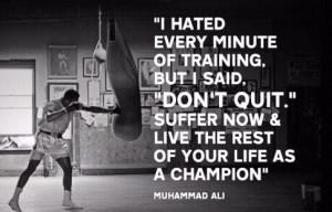 Muhammad Ali quote: