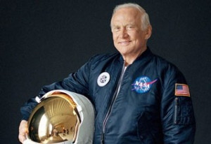 Classic: Buzz Aldrin Punches Man in the Face