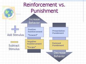Reinforcement vs. Punishment