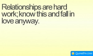 Quotes About Hard Relationships