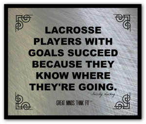 Lacrosse Poster and Quote #008
