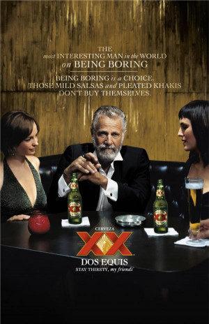 best commercial series in recent memory best most interesting man in ...
