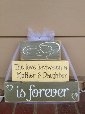 ... mother and daughter is forever mom birthday grandma gift home decor