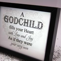 Godchild Fills Your Heart, Sparkle Word Art Pictures, Quotes, Sayings ...