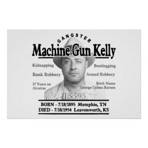 Machine Gun Kelly Gangster Quotes Gangster machine gun kelly