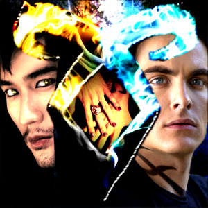 ... about Magnus Bane&Alec Lightwood aka Godfrey Gao and Kevin Zegers